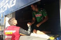 Mostert apologises to Kelly over pit clash