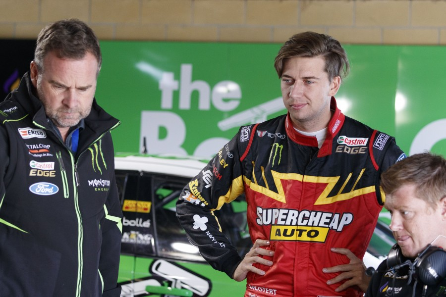 Chaz Mostert of Supercheap Auto Racing during the , , , April 07, 2018.