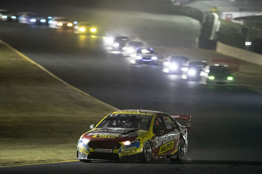 Red Rooster Sydney SuperNight 300 event 10 of the Virgin Australia Supercars Championship, Sydney, New South Wales. Australia. July 4th 2018