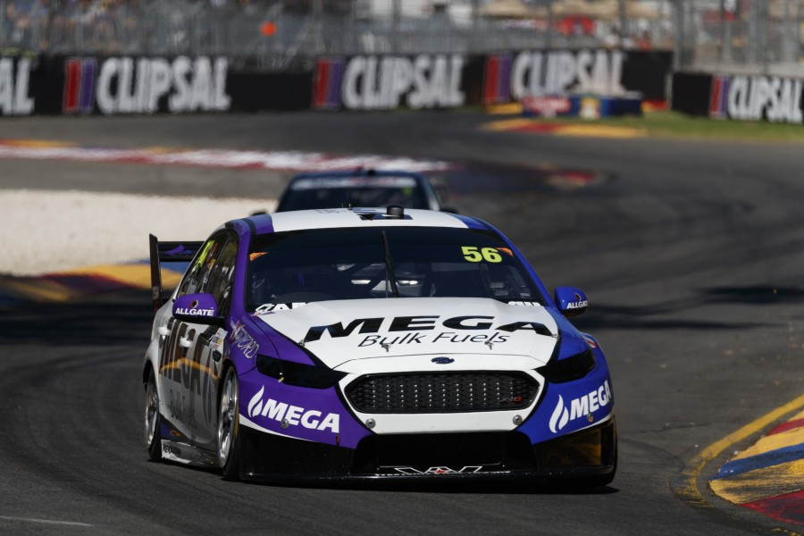 Jason Bright of Mega Racing during the Clipsal 500,  at the Adelaide Street Circuit, Adelaide, South Australia, March 04, 2017.