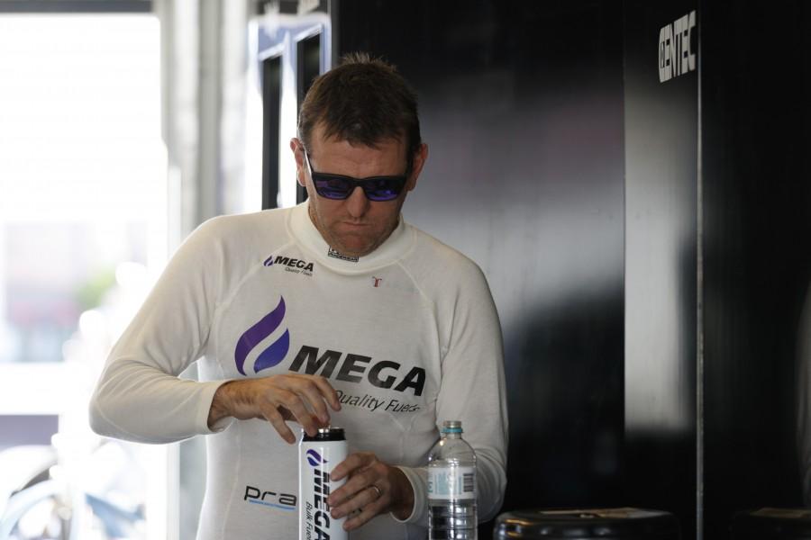 Jason Bright of Mega Racing during the Perth SuperSprint,  at the Barbagallo Raceway, Wanneroo, Western Australia, May 07, 2017.