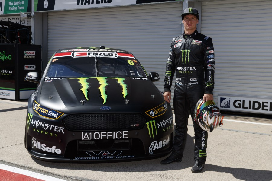 Waters also unveiled his 2017 challenger today in Adelaide.