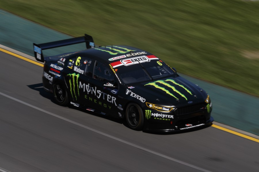 Cam Waters of Tickford Racing Australia during the Melbourne Grand Prix, Melbourne, Victoria, March 22, 2018.