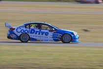 Fast times at Winton test