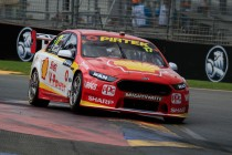 McLaughlin shades van Gisbergen in Practice 2