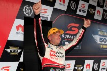 Tander surprised by podium after tough test