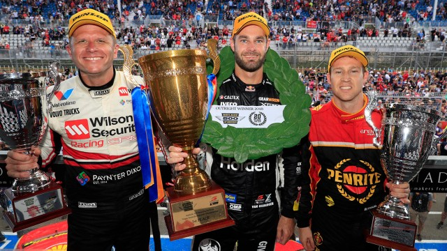 Adelaide double for van Gisbergen, Whincup DNFs
