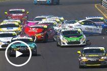 Late pile-up in Toyota 86 Racing Series final