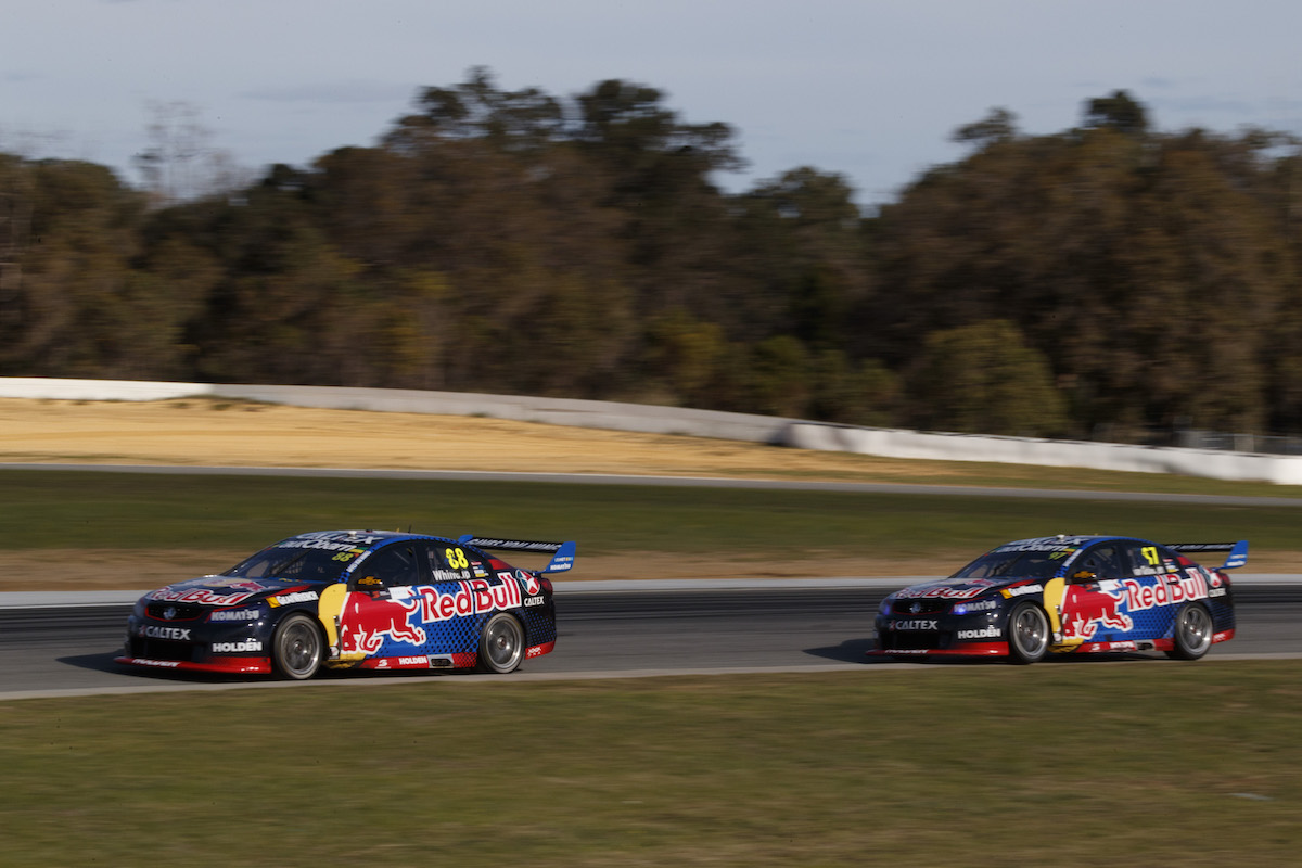 Jamie Whincup of Red Bull Racing Australia during the Perth SuperSprint,  at the Barbagallo Raceway, Wanneroo, Western Australia, May 08, 2016.