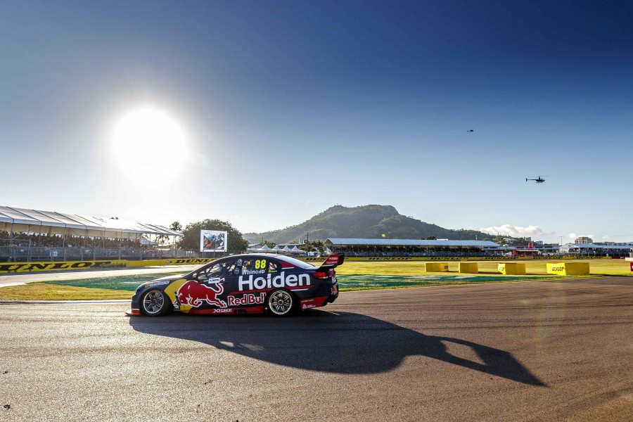 Jamie Whincup of Red Bull Holden Racing Team during the Watpac Townsville 400,  at the Townsville Street Circuit, Townsville, Queensland, July 08, 2017.
