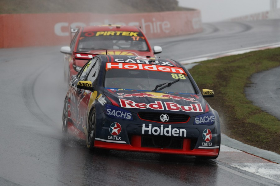 Jamie Whincup of Red Bull Holden Racing Team during the ,  at the , , , October 08, 2017.