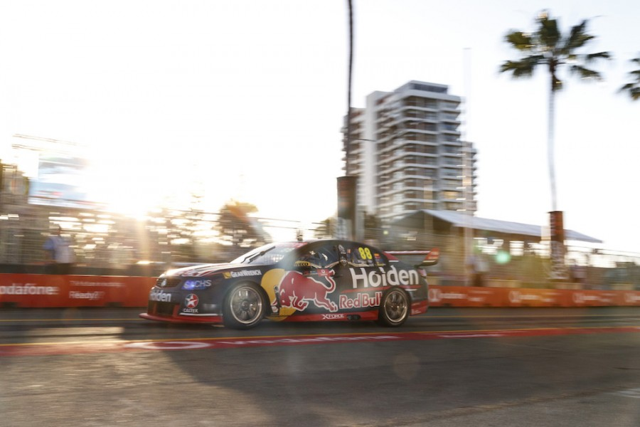 Jamie Whincup of Red Bull Holden Racing Team during the ,  at the , , , October 20, 2017.