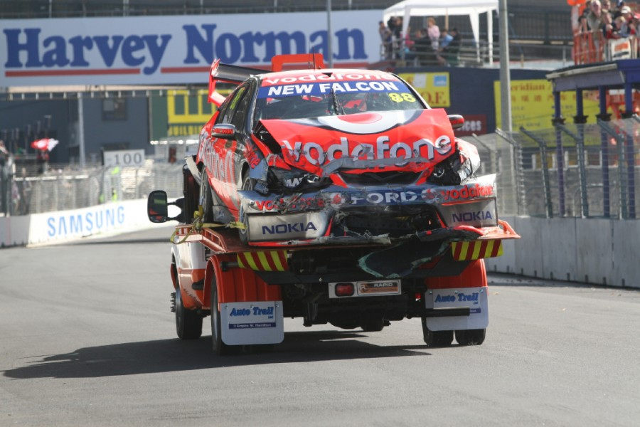 Round 03 of the Australian V8 Supercar Championship Series