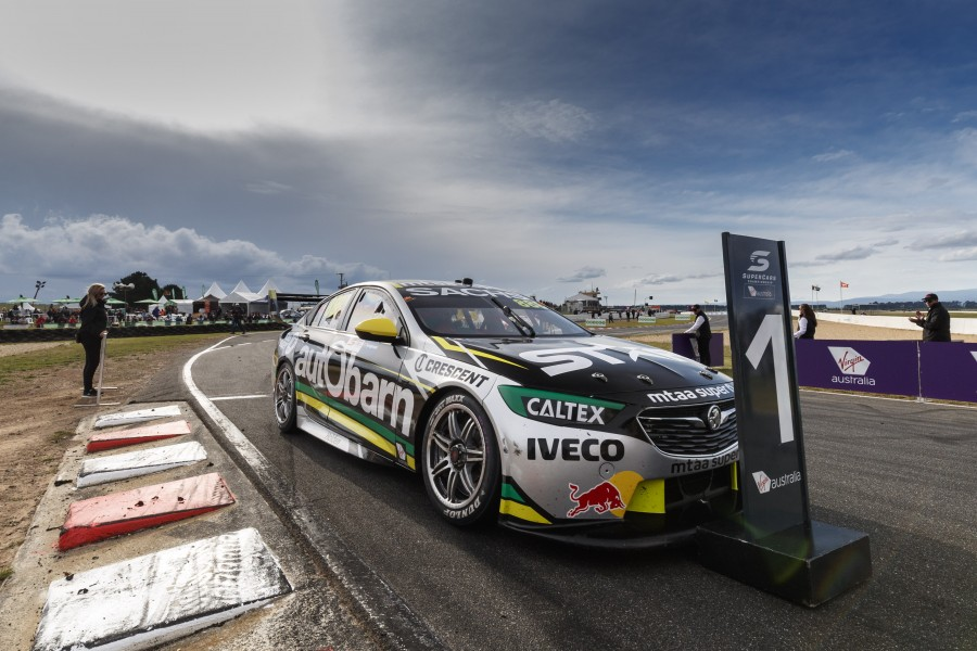 Craig Lowndes of Autobarn Lowndes Racing during the , , , April 08, 2018.
