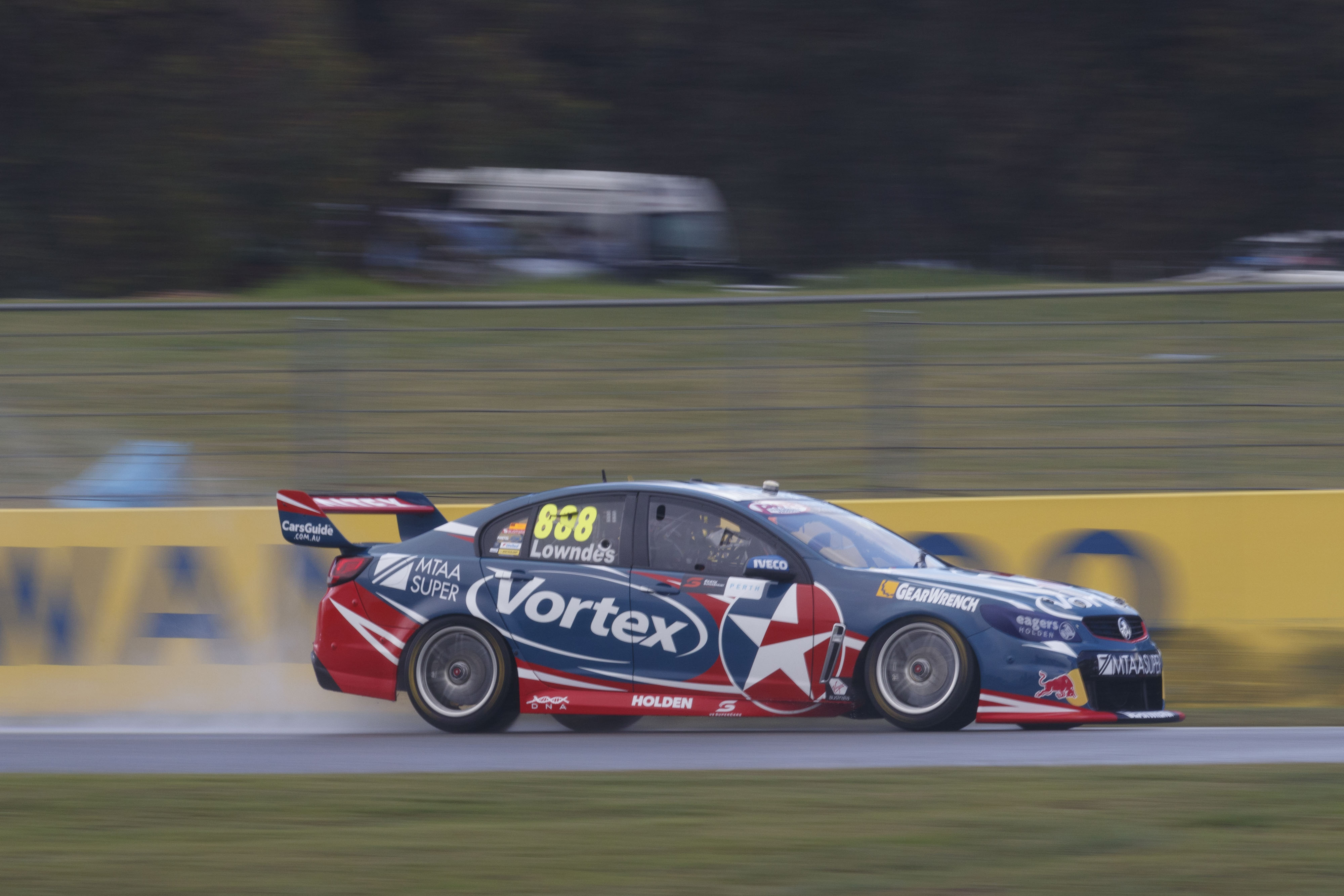 Craig Lowndes of Caltex Racing during the Perth SuperSprint,  at the Barbagallo Raceway, Wanneroo, Western Australia, May 07, 2016.
