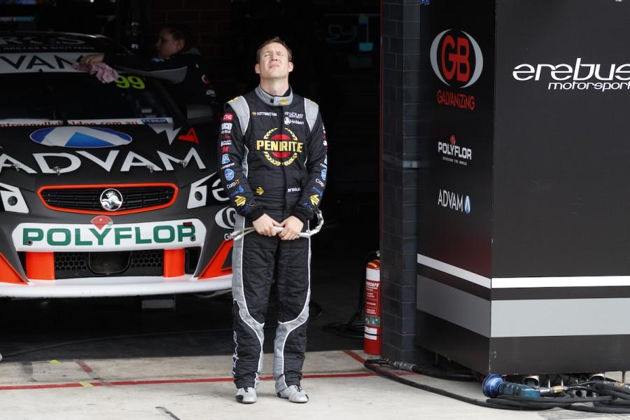 David Reynolds of Erebus Motorsport V8 during the Red Rooster Sydney SuperSprint,  at the Sydney Motorsport Park, Sydney, New South Wales, August 19, 2017.