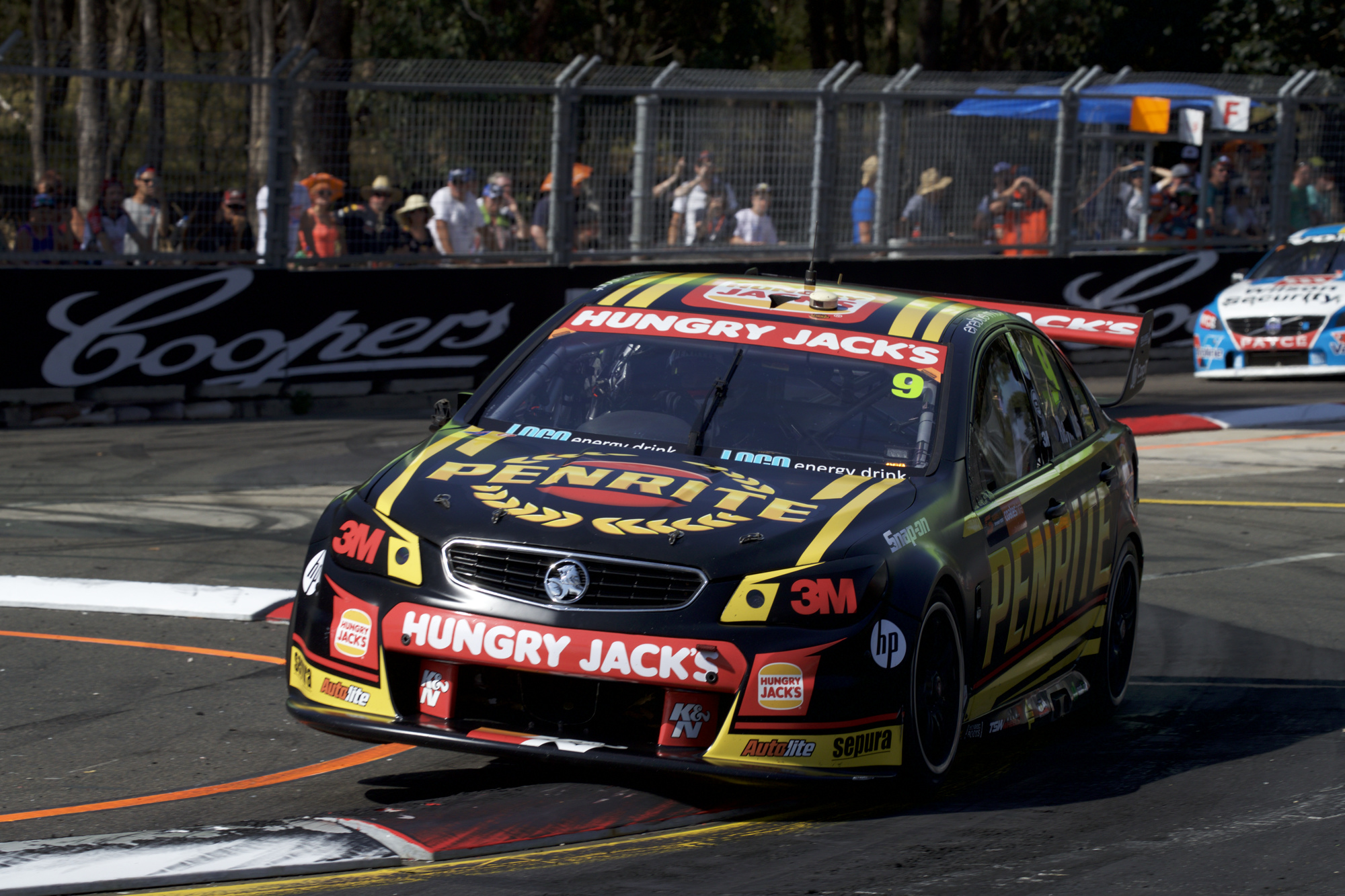 David Reynolds of Erebus Motorsport V8 during the Coates Hire Sydney 500,  at the Homebush Street Circuit, Sydney, New South Wales, December 04, 2016.