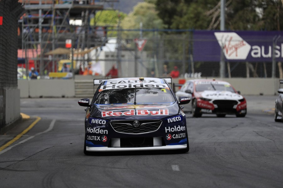 Whincup slowing on track
