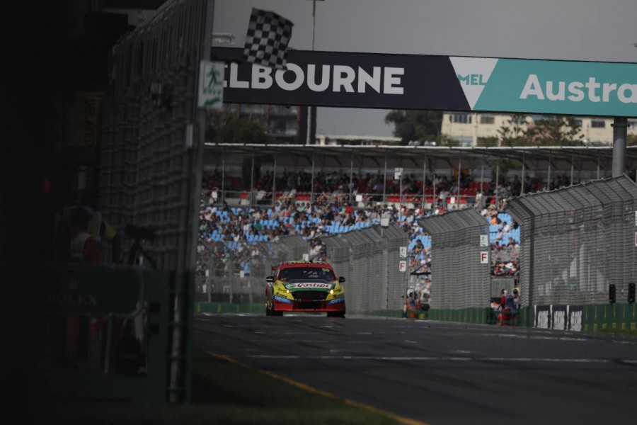 Mostert sealing his first win since 2015