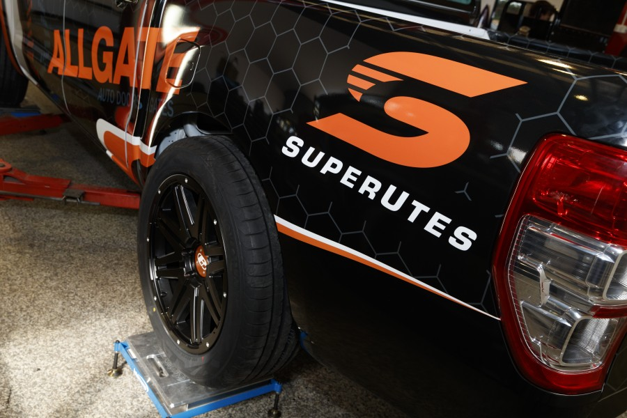 A sneak peek of Stone's SuperUte