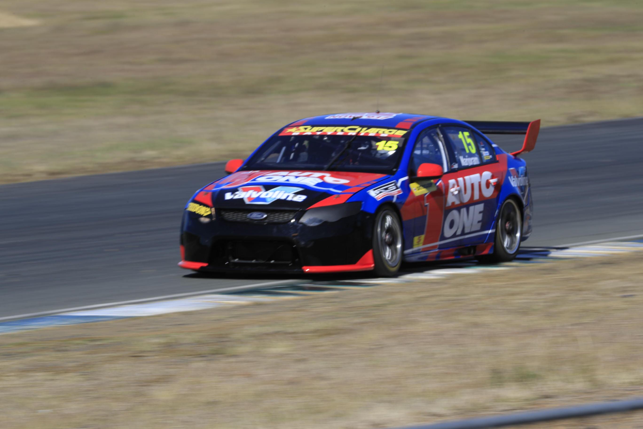 Adam Marjoram Matt stone Racing QR testing 2016