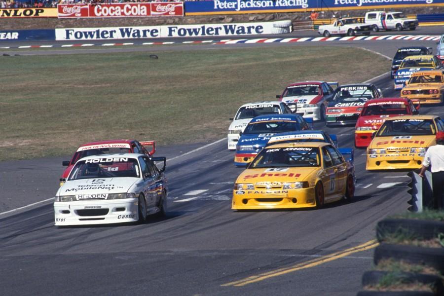 The V8 era began at Amaroo Park in 1993