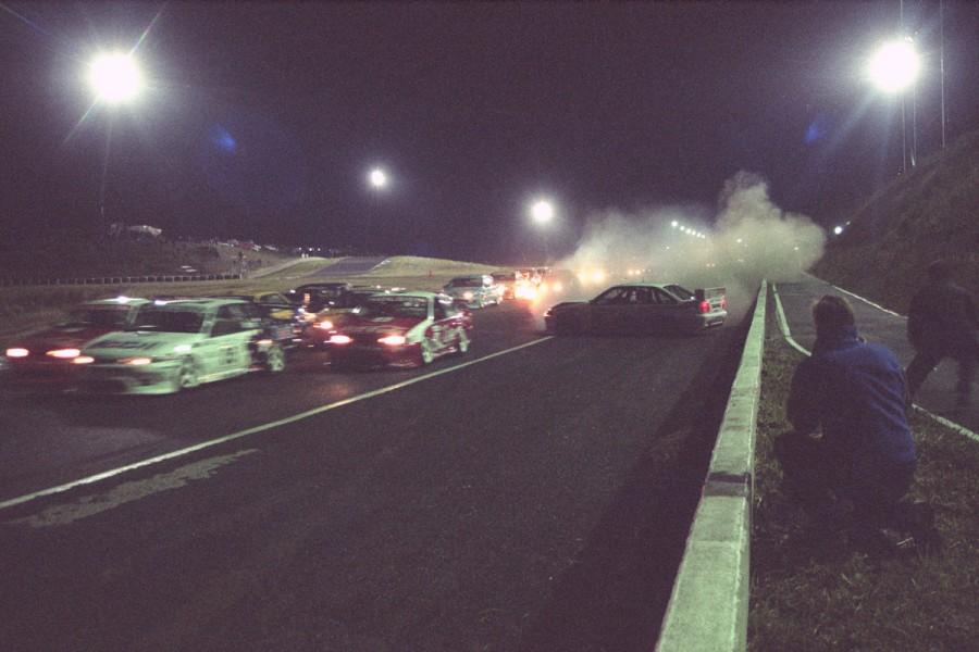 Night racing at Calder proved spectacular