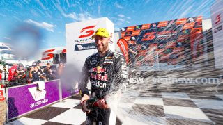 Van Gisbergen beats McLaughlin in last-lap thriller