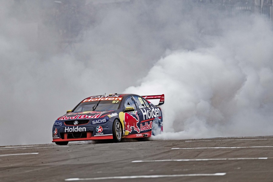 Shane van Gisbergen of Red Bull Holden Racing Team during the ITM Auckland SuperSprint,  at the , Pukekohe, , November 04, 2017.