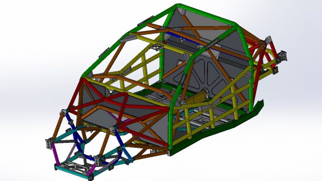 Supercars releases Gen3 chassis CAD images