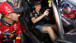 F1 star Verstappen slides into Supercar