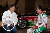 Larry Perkins chats with Rick Kelly