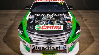 Kelly puts Nissan V8 on show