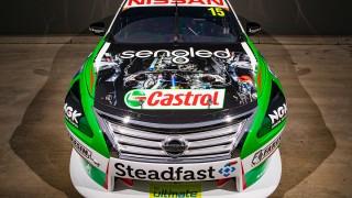 Kelly puts Nissan V8 on show