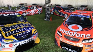 Supercars history on display in Adelaide