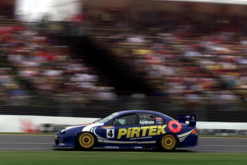 Ambrose at Albert Park in 2001