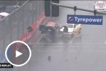 Wet weather carnage in Aussie Racing Cars