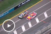 Aerial: McLaughlin and Mostert's side-by-side scrap