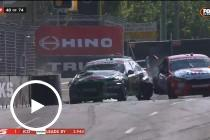 Coulthard wipes out on stricken Waters