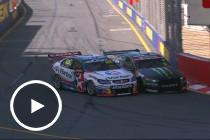 Stanaway and Richards clash