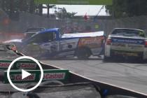 Carnage in V8 Utes final race
