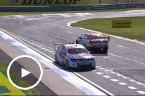 Van Gisbergen spins Coulthard in Practice 4