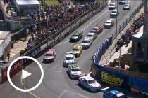 Whincup involved in lap one tangle