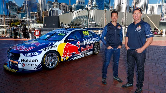 Whincup/Lowndes to run #888 in enduros