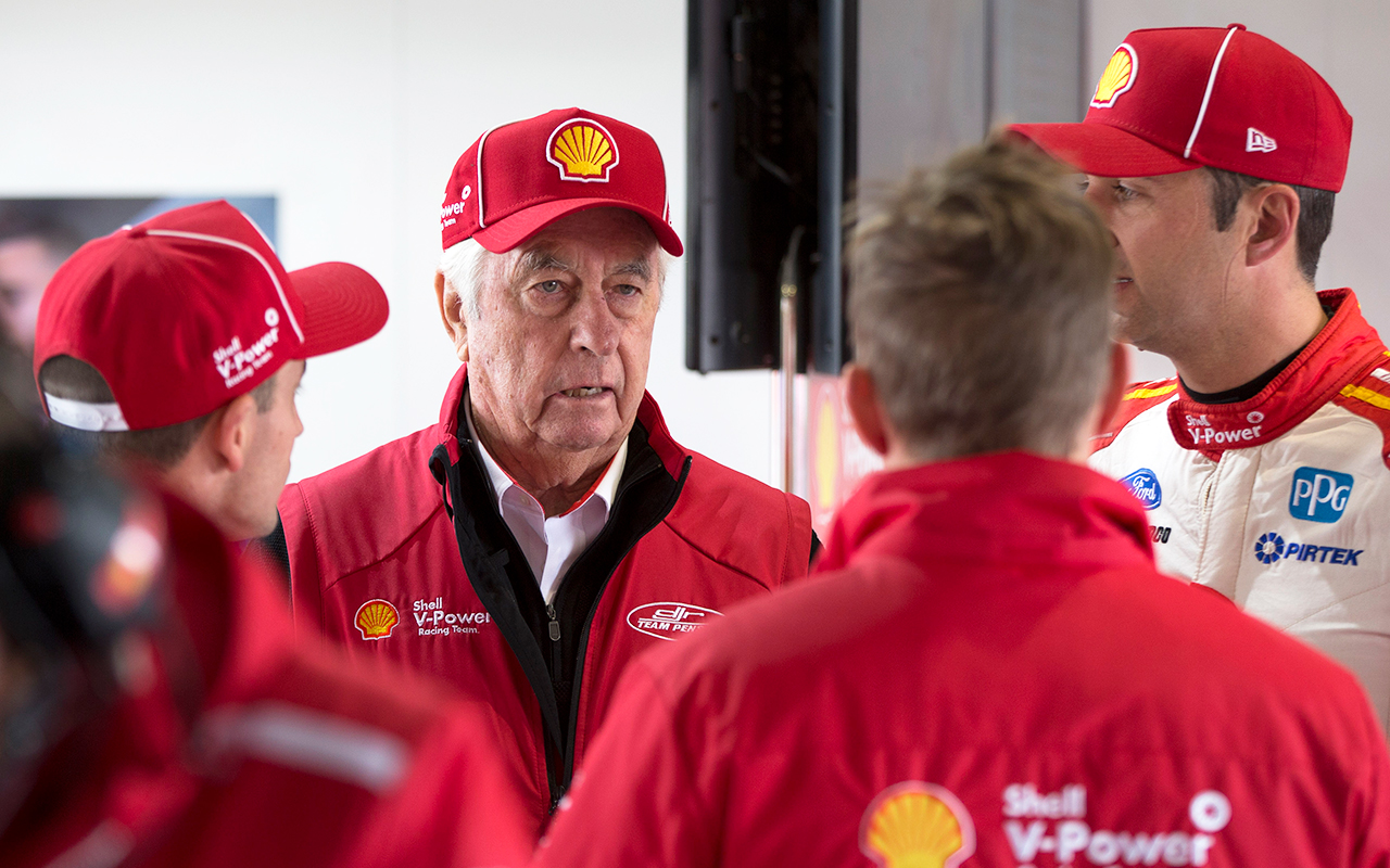 Roger Penske's cheeky challenge to Triple Eight | Supercars