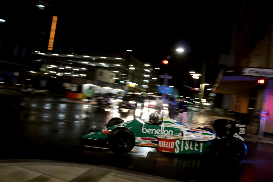 Benetton on City STreets