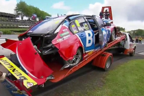 Race red flagged for Bright accident