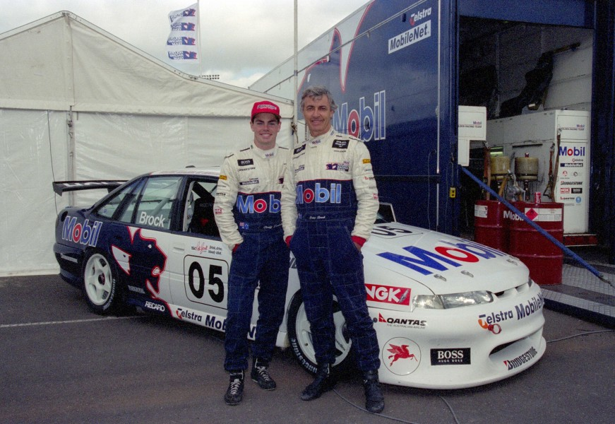 The master and apprentice - Peter Brock and Craig Lowndes