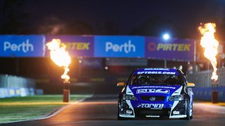 Perth lights tested ahead of SuperNight