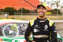 Ricciardo soaks up 'awesome' Supercar experience